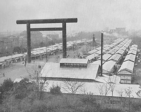 Temporary_houses_in_yasukuni_shrine